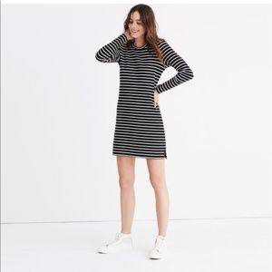 NWT MADEWELL striped t-shirt dress size large